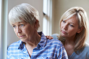 Daughter dealing with Alzheimer's Mother North River Home Care Norwell