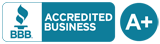 A+ Logo Better Business Bureau Accredited Business