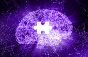 Human brain jigsaw Alzheimer's disease